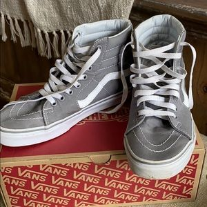 Vans high top shoes